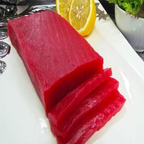 Lõi thăn cá ngừ cắt thanh